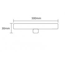Luxtek luxlinea LED S14d linear 8W 2700K WW 1PIN 270° 500lm 50cm 60W
