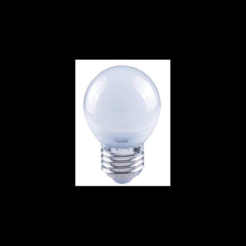 Luxtek lampe LED A45 lustre 4W SMD E27 3000K WW 230V 300lm