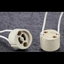 Douille GX10 ceramique pour lampe iodure britespot