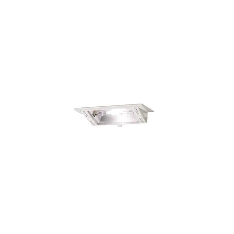 projecteur encastrable iodure 150w blanc orientable rectangulaire. Black Bedroom Furniture Sets. Home Design Ideas