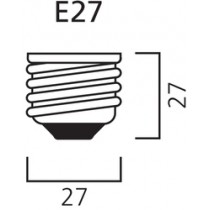 Sylvania Hi-Spot 80 SUP 230V 50W 25° E27 SV1