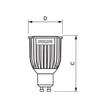 Philips MASTER LED spot MV D 8-50W GU10 827 40D