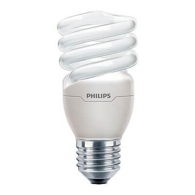 Philips Tornado T2 15W blanc chaud E27 220-240V 1PF
