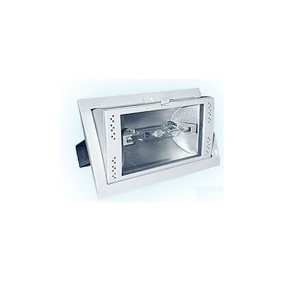 Projecteur iodure encastrable orientable 70w complet