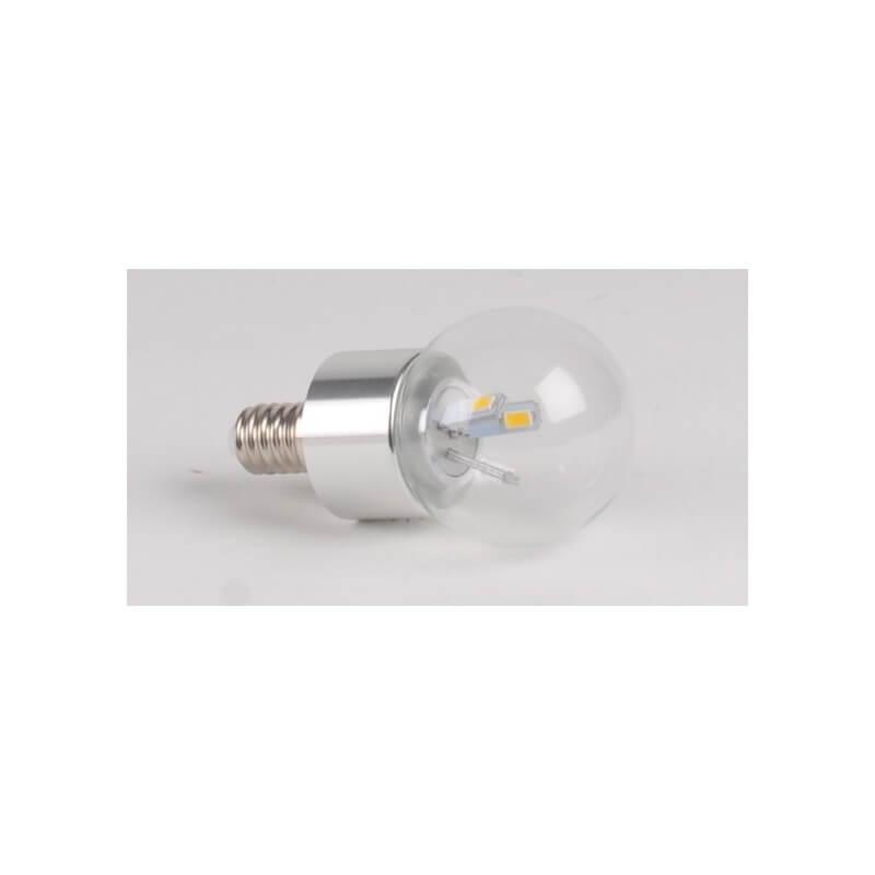 Ampoule LED 3W WW E14 spherique