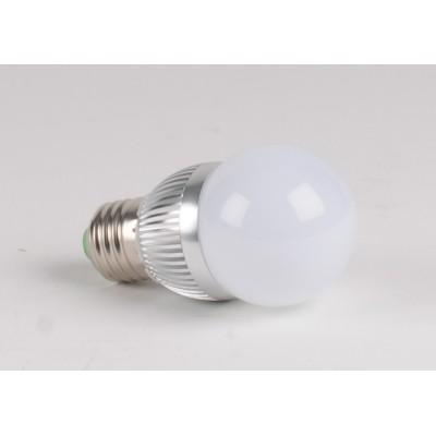 Ampoule LED 3W CW blanc froid Spherique E27
