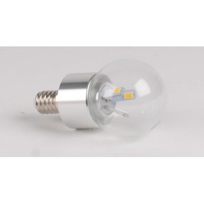 Ampoule LED 3W CW E14 spherique
