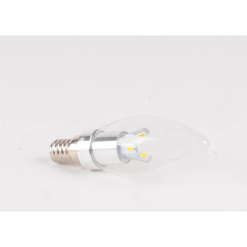 Ampoule LED 3W CW E14 Flamme