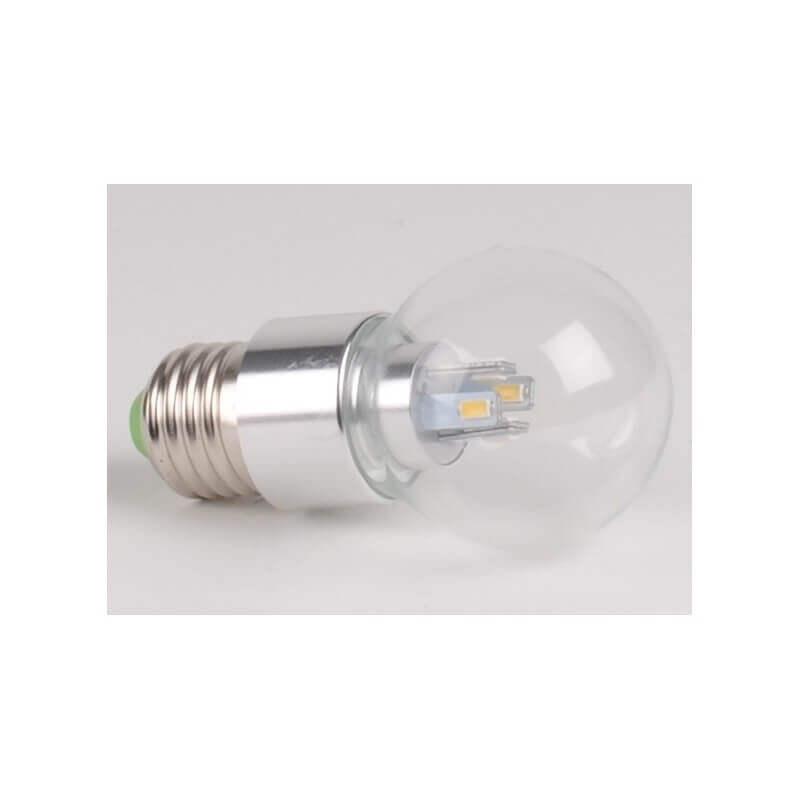 ampoule led puissance 4w ww culot e27 spherique blanc froid. Black Bedroom Furniture Sets. Home Design Ideas