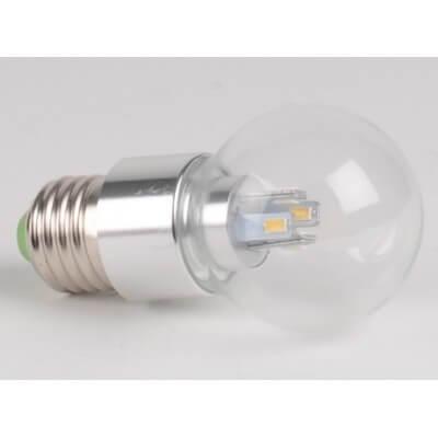 Ampoule LED 4W blanc chaud E27 Spherique