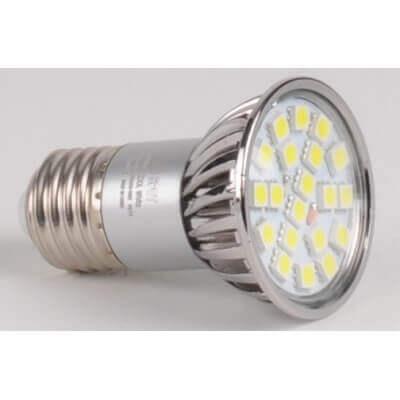 LAMPE LED REFLECTEUR 5.5W WW E27 SPOT BLANC CHAUD