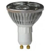Lampe Led Culot GU10 230v 3x1w 270 lm