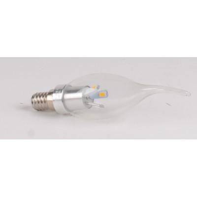 Ampoule LED 3W CW E14 Flamme coup de vent claire