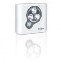 Philips Luminaire LED SpotOn blanc avec detecteur de mouvement