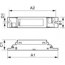 Ballast PHILIPS HF-S 249 TL5 II 220-240V 50/60Hz