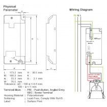 Platine d'alimention electronique pour lampe à iodure 70w