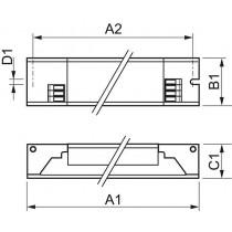 Ballast Philips HF-Pi 1 28/35/49/80 TL5 EII
