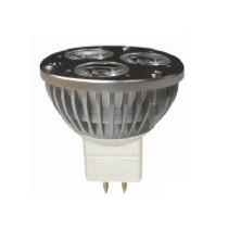Lampe Powerled 12v 3x1w GU5.3 40000h blanc brillant