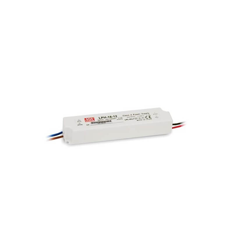 Alimentation Mean Well 1,5A 18W 12V IP67