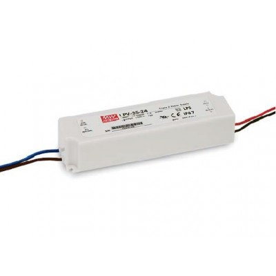 Alimentation Mean Well 3A 36W 12V, IP67 LPV 35-12