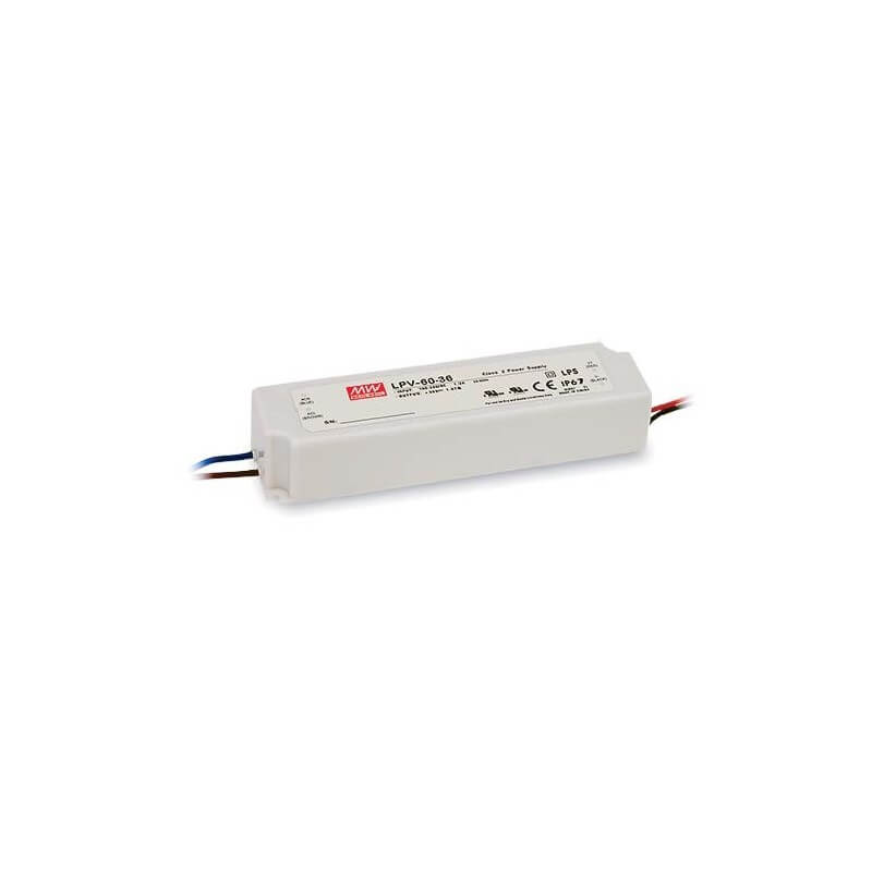 Alimentation Mean Well 5A 60W 12V, IP67