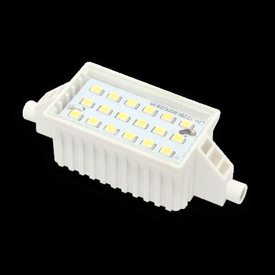 Ampoule LEDline 6W substitut 60W 500 lumens Blanc lumière du jour 6500K R7s