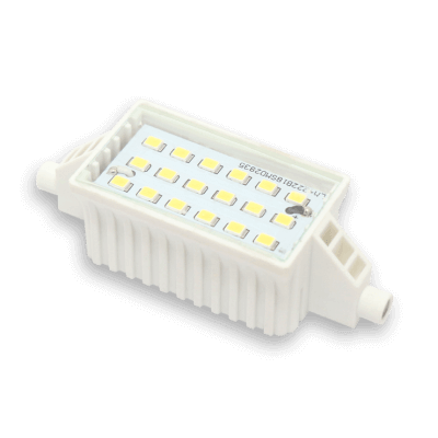 Ampoule LED R7s 78mm 6W 230V Blanc chaud