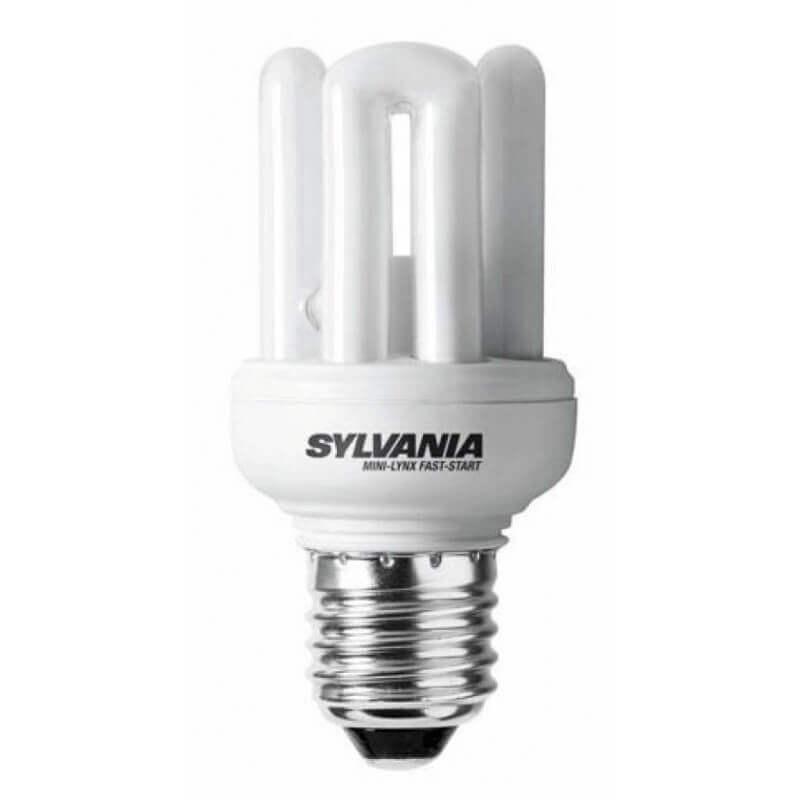 Sylvania Mini-Lynx Fast start E27 15w allumage instantané