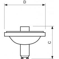MASTERColour CDM-R111 70W/830 GX8.5 10D 1CT