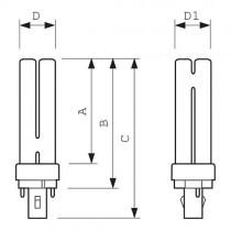 MASTER PL-C 26W/830/2P 1CT BOX 150