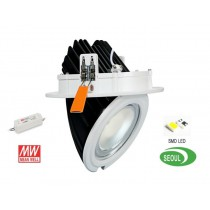 Plafonnier encastrable LED 40W orientable