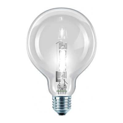 Philips Halogen Classic 70W E27 230V G95 CL 1CT/6 SRP