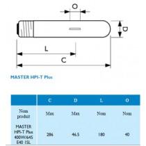 PHILIPS MASTER HPI-T plus E40 400w/645