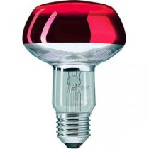 Philips Refl 60W E27 230V NR80 Rouge