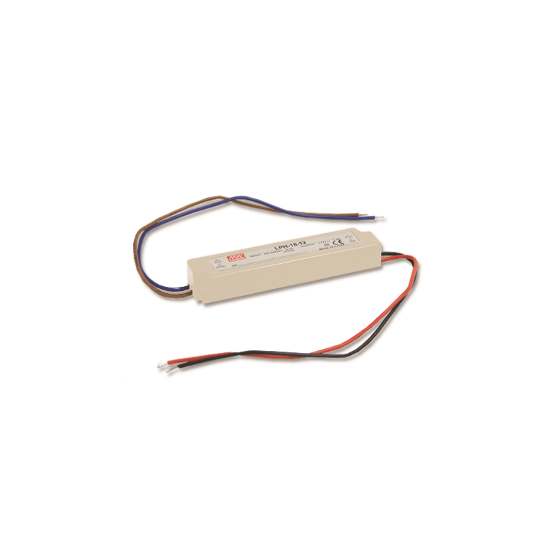 Alimentation Mean Well 18W 24V IP67 LPH-18-24