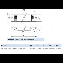 Philips HF-Performer Intelligent 3/4 14/24 TL5/PL-L EII 220-240V