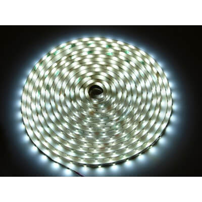 Ruban 300 Led SMD3528 Long 5M IP65  blanc neutre