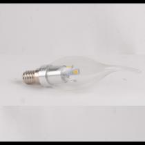 Ampoule LED 3W WW E14 Flamme coup de vent