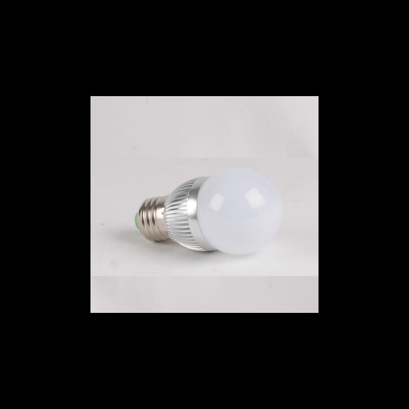 ampoule led puissance 3w ww culot e27 spherique blanc chaud. Black Bedroom Furniture Sets. Home Design Ideas