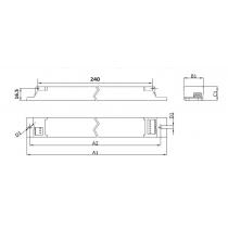 Philips  Driver LED Xitanium 36w 0.12-0.14A 115V 230V