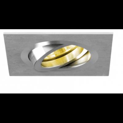 spot encastrable carr alu bross orientable gu5 3 kfms clairage. Black Bedroom Furniture Sets. Home Design Ideas