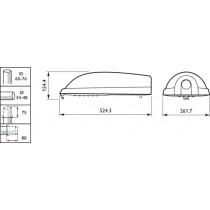 Mini Iridium Led BGS451 ECO28--2S/740 II WSO FM GR