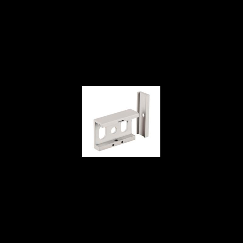 Clip de fixation plafond pour rail blanc
