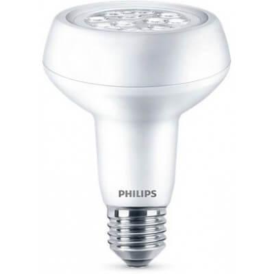 Philips Reflecteur R80 Led 7W-100w  Blanc chaud WW E27