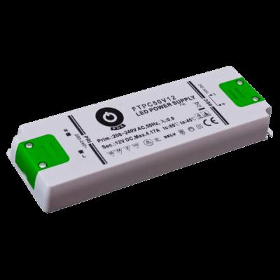Alimentation LED à bornier 50W 12V 4.17A IP20