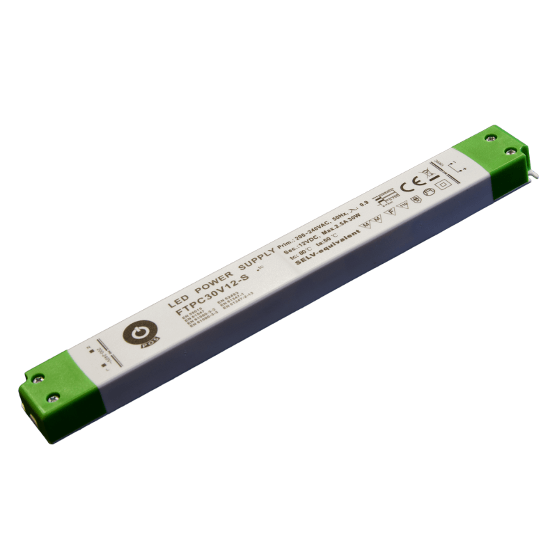 DRIVER LED FTPC30V12-S 30W 12V 2.5A IP20