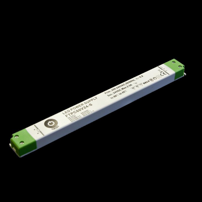 DRIVER LED FTPC60V12-S 60W 12V 5A IP20