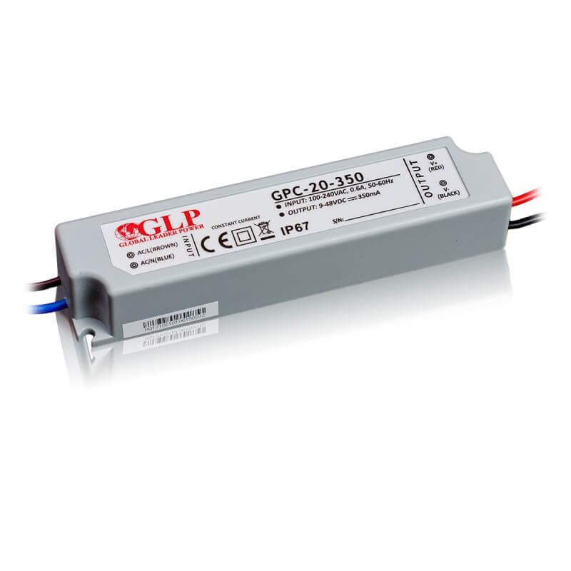DRIVER LED GPC-20-350 16.8W 9-48V 350mA IP67