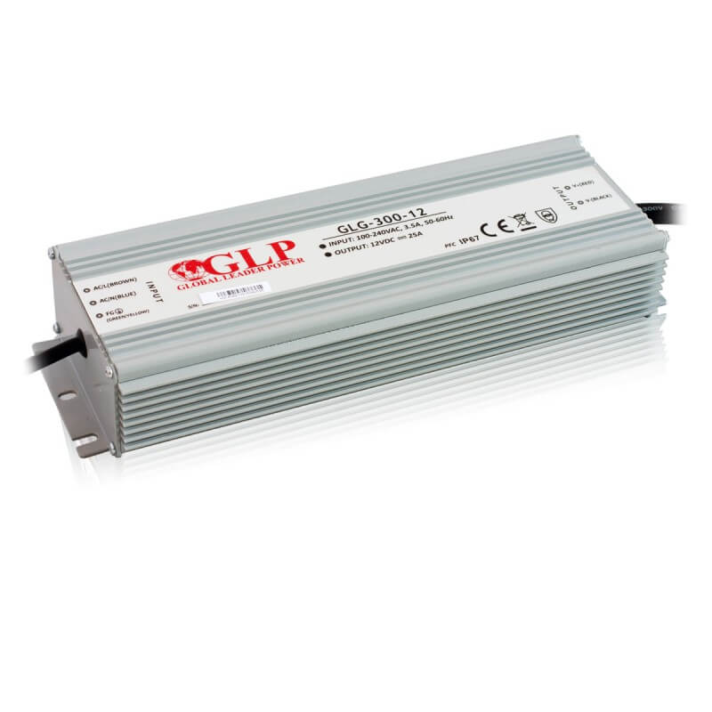 DRIVER LED GLG-300-12 300W 12V 25A IP67