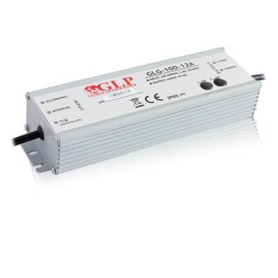 Alimentation LED métallique  GLG 100W 12V 8.5A Etanche IP65